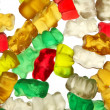 Gummi-bears on white background_2 — Stock Photo