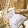 Wedding handbags of the bride - Stock Photo