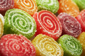 Background of colorful candies — Stock Photo