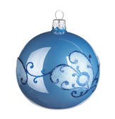 Christmas ball on white background — Stock Photo