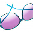 thumbnail of Hip Blue Zebra Stripe Sunglasses