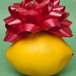 Royalty-Free Stock Photo: Gift is a Lemon