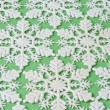 Snowflake Background on Green — Foto de Stock