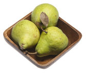 Trio of Pears — Stock Photo