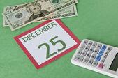 χριστούγεννα σε έναν προϋπολογισμό — Φωτογραφία Αρχείου