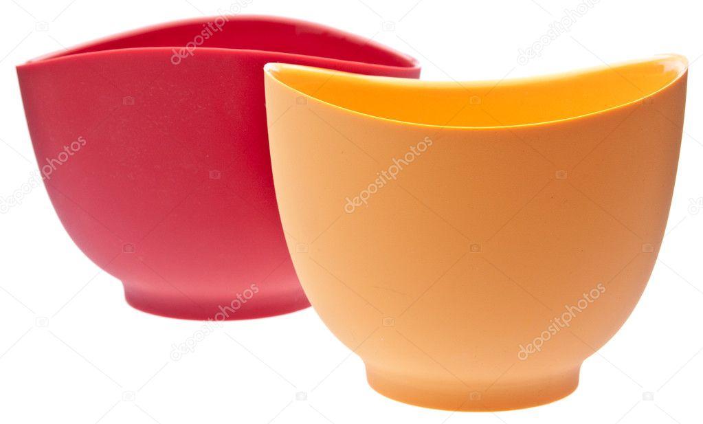 Paar Silikon Rührschüsseln — Stockfoto © brookefuller #2166883 | {Rührschüsseln 57}