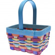 Brightly Colored Easter Basket — Stock Photo