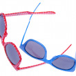 Pair of Trendy Hipster Sunglasses — 图库照片