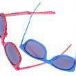 par de gafas de sol de moda hipster — Foto de Stock