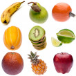 Group of Fresh Fruit — Stock Photo
