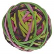 Rubber Band Ball — Stock Photo