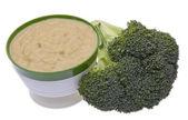 Zuppa di broccoli — Foto Stock