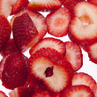 Sliced Strawberries - Foto Stock