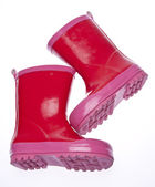 Pink Galoshes — Stock Photo