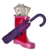Save Money for a Rainy Day — Stock Photo