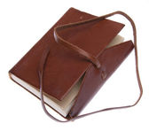 Leather Journal — Stock Photo