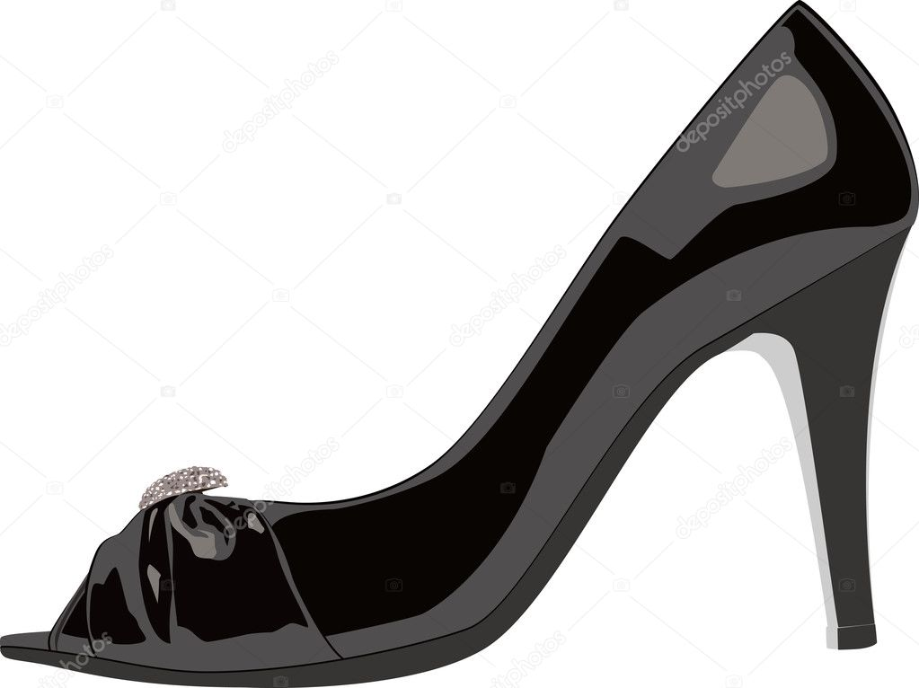 High Heels Shoe - Stock Illustration