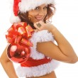 Sexy Santa - Stock Photo