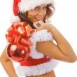 Sexy santa — Stockfoto #1374835