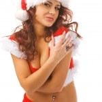 Sexy Santa — Zdjęcie stockowe