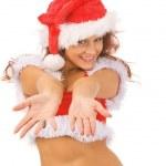Sexy Santa — Zdjęcie stockowe #1375177