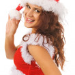 Sexy Santa — Zdjęcie stockowe #1375210