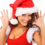 Sexy Santa — Zdjęcie stockowe #1375251