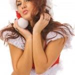 sexy santa — Stockfoto #1375280