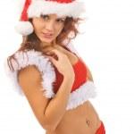 sexy santa — Foto Stock