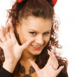 Pretty devil — Stock Photo #1376048