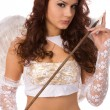 Angel with arrow — Stock Photo