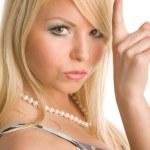 Blond woman — Stock Photo #1377033