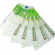 Five hundred euro banknotes — Stock Photo #1378517