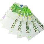 Five hundred euro banknotes — Stock Photo #1378517