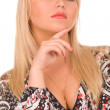 Stock Photo: Strict woman