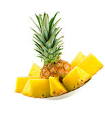 Sliced pineapple — Stock Photo