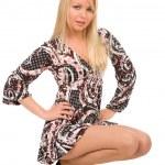 Fashionable blond woman — Stock Photo #1380021