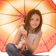 Royalty-Free Stock Photo: Girl with umbrella