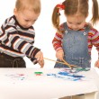 Young painters — Stock Photo