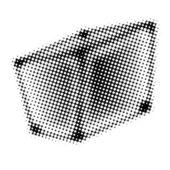Funny curve box — Stock Photo