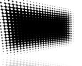 Black halftone cover — Stock Photo