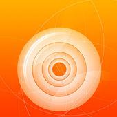 橙色背景 — 图库照片