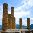 The temple of Apollo in Delphi, Greece — Stock Photo