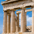 The Temple of Athena at the Acropolis — Stock Photo #1392940