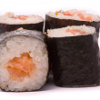 Stock Photo: Sushi on white background