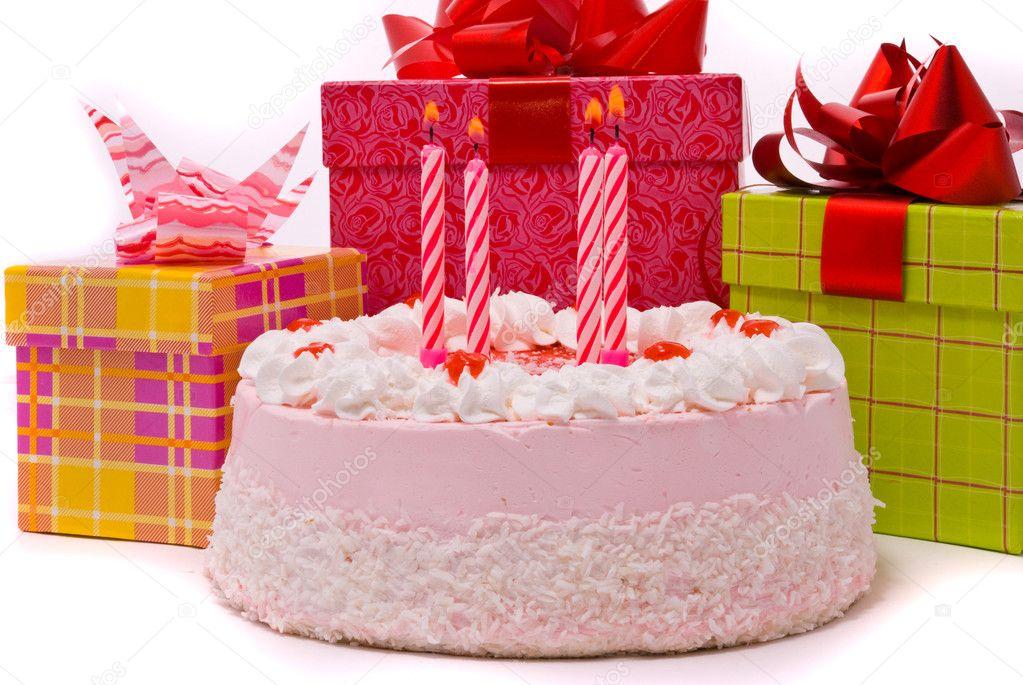Картинки с тортами и подарками 41