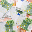 Royalty-Free Stock Photo: Euro banknotes background