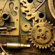 Gears from old mechanism — Stock Photo #1528209