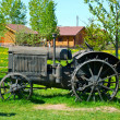 Old wheeled tractor — Stock Photo #1528308