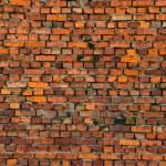 Retro bricks wall background — Stock Photo